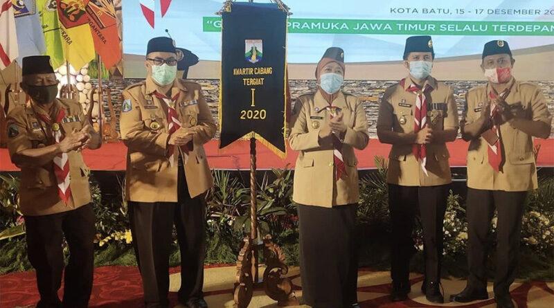 Kwarcab Probolinggo Dinobatkan Sebagai Kwarcab Tergiat I Jawa Timur