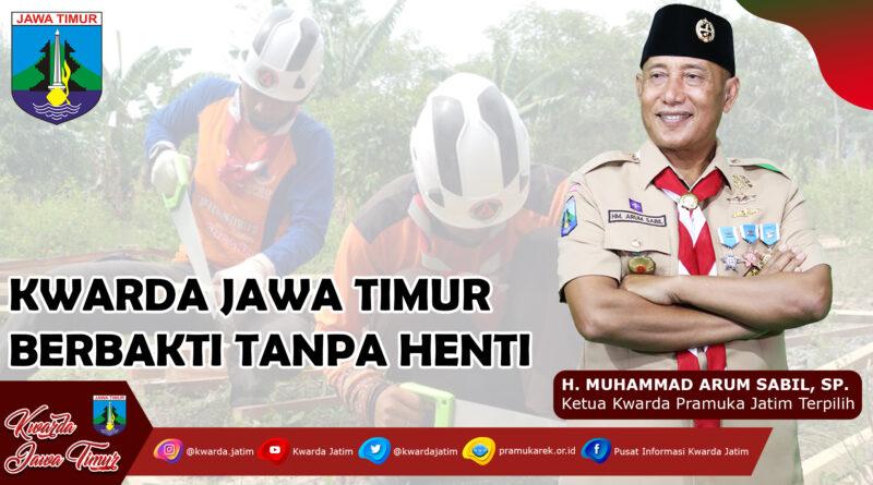 Kwarda Jawa Timur Berbakti Tanpa Henti