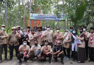 Kunjungan Pinsaka Kalpataru dan Wanabakti Nasional di Calon Buper Kwarcab Kediri Mengundang Optimisme