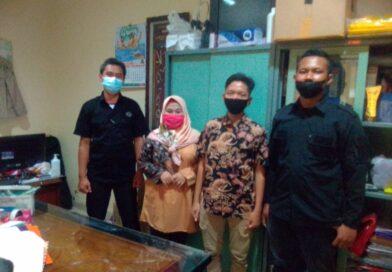 Racana Pangkalan Universitas Panca Marga (UPM) Probolinggo Kunjungi Dapur Majalah Genderang Kwarda Jatim.