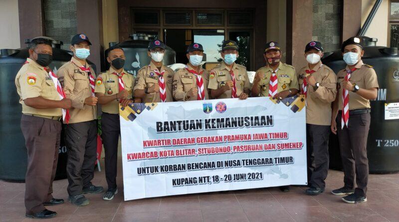 Kwarda Jatim Peduli, Salurkan Bantuan Ke NTT