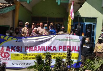 Pramuka Peduli Kwarcab Kota Malang Kembali Lakukan Aksi Untuk Daerah Terdampak Gempa