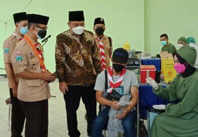 1.000 Vaksin Kwarcab Kota Malang, Sukseskan 60.000 Vaksinasi Kwarda Jatim